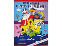 Sticker- en speelboek Sinterklaas