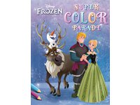 Kleurboek Deltas Frozen super color parade