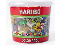 Haribo Colorado wine gum + engelse drop 650gram