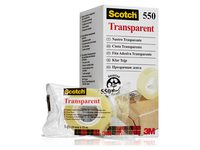 Plakband Scotch 550 19mmx33m transparant