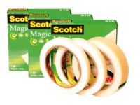 Onzichtbaar plakband Scotch Magic 810 12mmx66m