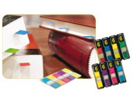 Indextabs 3M Post-it 6835CB split flags assorti